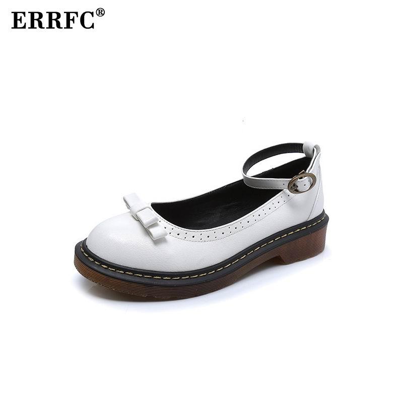 Mode Richelieu À Noir Femmes Respirant Chaussures Oxford Rond marron Cheville Britannique Blanc Bout 43 Plus Errfc Taille blanc Dame La Femme Pour Bride OnqpY4yf