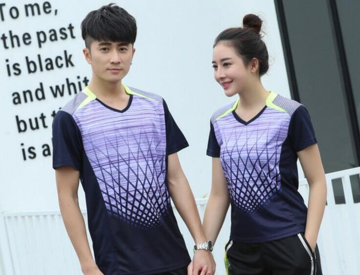 shirt Badminton Women ,Trainning Shirts,Men Tennis t-Shirts polyester Breathable table tennis jersey , ping pong tshirts zumaba
