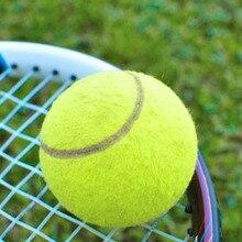 купить 2018 Green Tennis Balls Sports Tournament Outdoor Fun Cricket Beach Dog Ideal for Beach Cricket Tennis Practice Durable to Use дешево