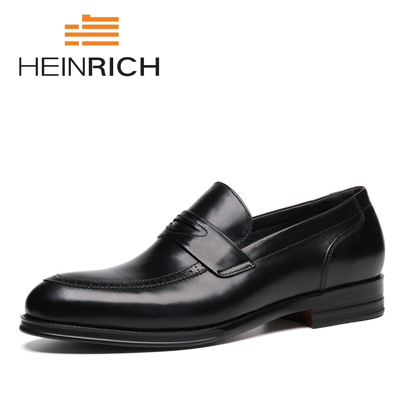 HEINRICH 2018 New Patent Leather Men Handmade Loafers With Classic Fashion Banquet And Elegant Prom Dress Shoes Scarpa Uomo piergitar 2017 new black patent leather men handmade loafers with black bowtie fashion banquet and prom men dress shoes