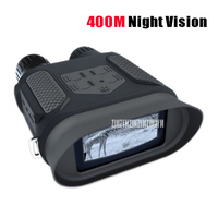 WG400B цифровой HD бинокулярный NV Корректировщик 31X Ночное видение Охота телескоп 1300ft/400 м 2 дюйма TFT ЖК дисплей инфракрасный ИК камера видеокаме