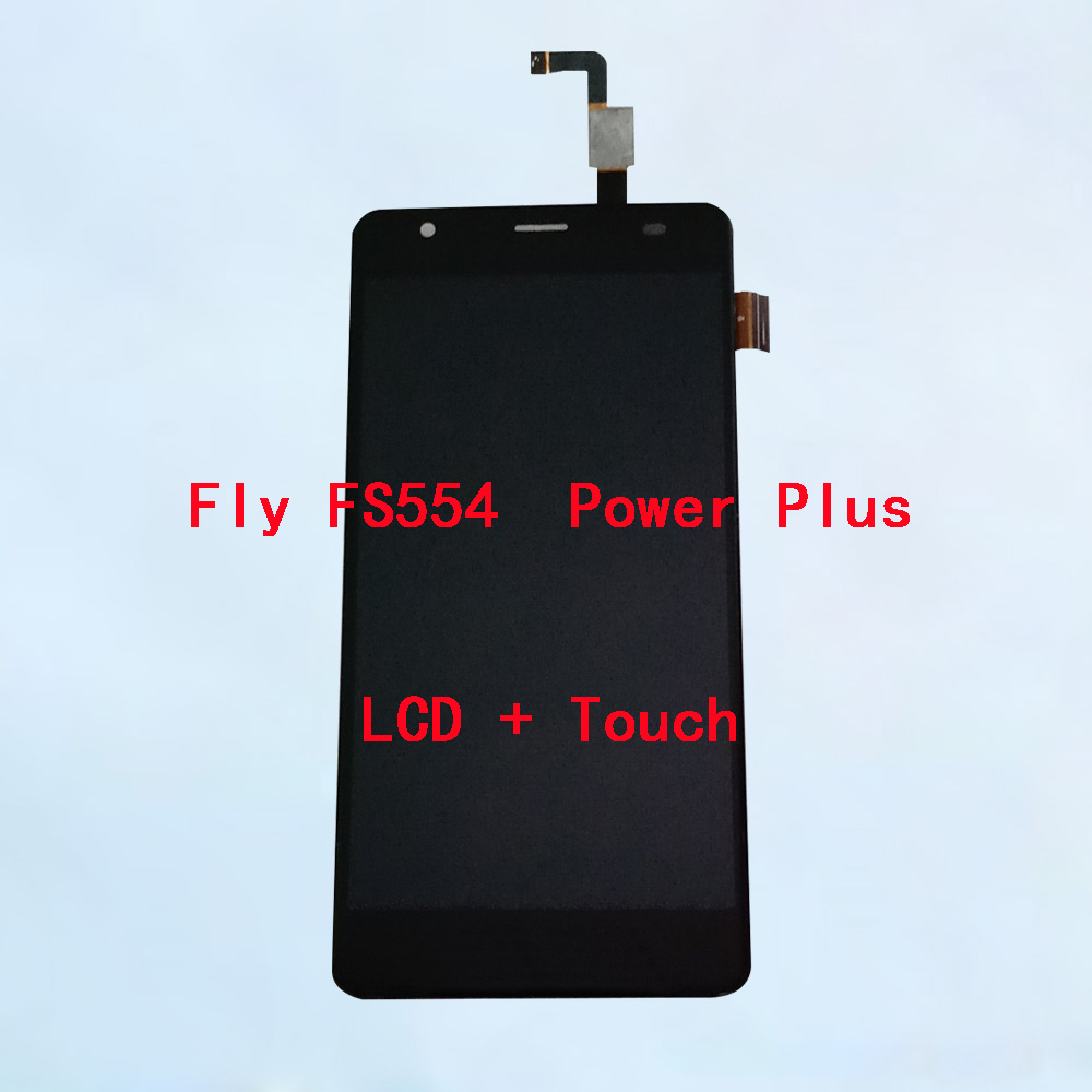 BINYEAE For Fly Fs554 Power Plus LCD Display With Touch Screen Digitizer Assembly Replacement