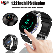 Smart Bracelet LIGE IP67 Waterproof Fitness Watch Bluetooth Connection Android Ios Blood Pressure Monitor Pedometer Wristband