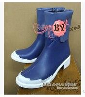 Free Shipping Gundam Seed Kira Yamato Earth Alliance Cosplay Shoes Cosplay Boots Professional Handmade