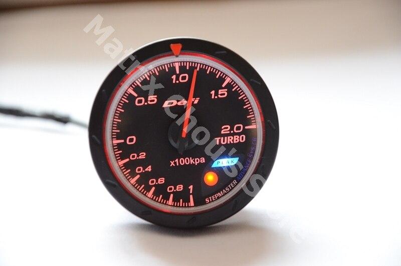 2 5 inch 60mm defi advance cr gauge turbo boost meter defi gauges car meter car gauge. Black Bedroom Furniture Sets. Home Design Ideas