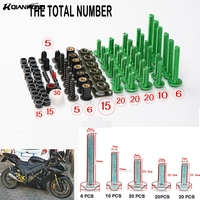 Motorcycle Fairing Bolts Motorcycle Accessories Windscreen Screws Fit For FOR BMW S1000RR HP4 DUCATI749 999 1098