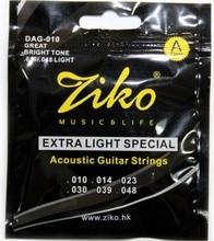 Ziko 010-048 akustik-gitarren saiten dag-010 gitarre teile musikinstrumente gitarre zubehör