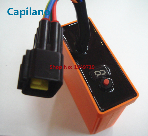 US $56 0 |motorcycle ignition CDI unit FU150 with 8 map for Suzuki 150cc  Raider 150 FU150 no cut racing electric ignition parts-in Motorbike  Ingition