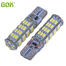 2pcs/lot T10 Strobe flashing 194 W5W 54led 3014SMD t10led lasting shine+auto strobe flash Two modes of Operation Car light bulbs