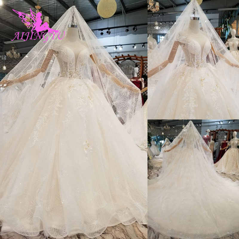 AIJINGYU Gypsy Style Dresses Vintage Gowns Two Pieces LuxurySexy Vintage  Lace Top Size 18 Weeding Gown 0acaad7485ac