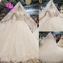AIJINGYU Gypsy Stil Kleider Vintage Kleider Zwei Stücke LuxurySexy Vintage Spitze Top Größe 18 Jäten Kleid Braut Kleid Verkauf