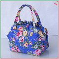 2016 Canvas bag Ladies cosmetic bag