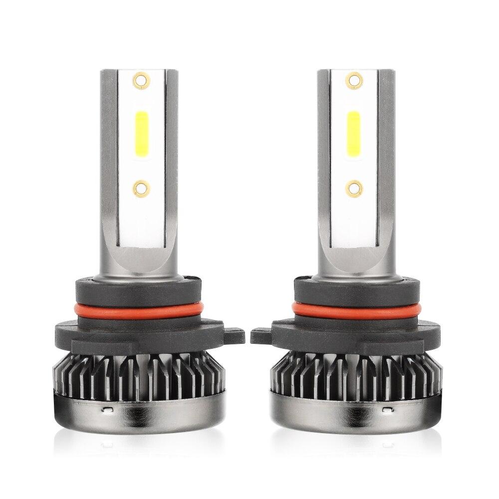 2pcs LED Headlight H7 HB4 HB3 H11 H1 LED Lamp COB Car Light 10000LM Bulbs 6000K White 110W Auto Headlamp Led Light Kit