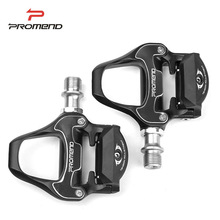 цена на Self-lock Bicycle Pedals Road Bike Ultralight SPD-SL Cycling Sealed Bearing Adjustable Pedals with Locking Cleats Bike Parts