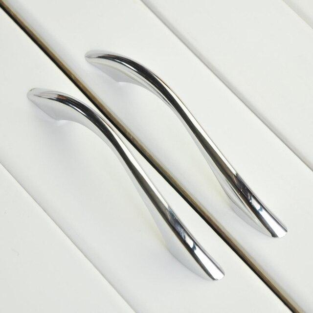 Chrome Zink legierung Solide Moderne Küchenschrank Schrank Schublade ...