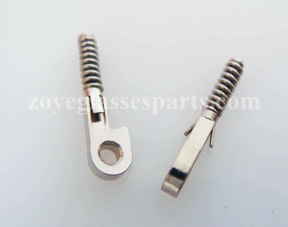 ZOYE springs for repairing broken eyeglass spring box hinges,broken springs replacement part TX-051 1.3mm loop 12.2mm length