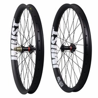High Quality 27 5 PLUS Mtb Carbon Wheels 50mm Width Clincher Tubeless Roue Carbone Chinese 110x15