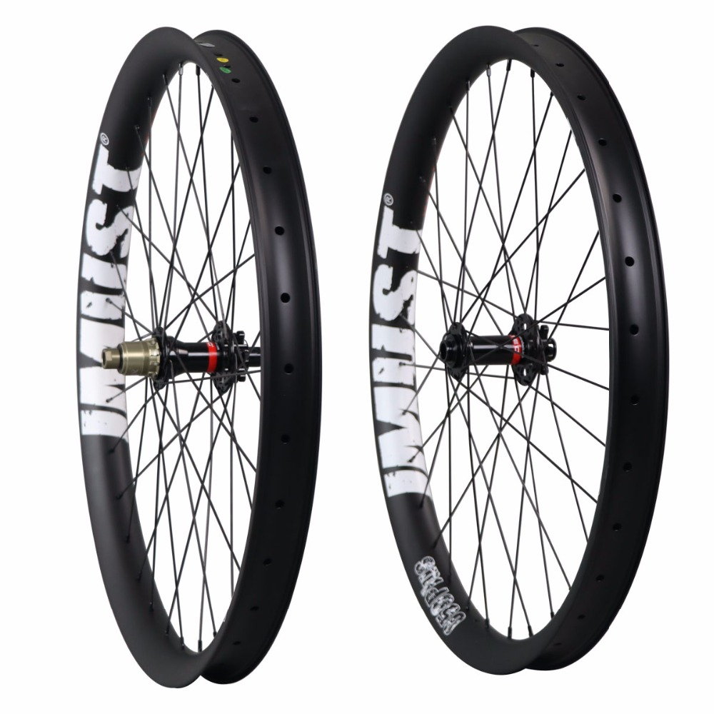 High quality 27.5 PLUS mtb carbon wheels 50mm width clincher tubeless roue carbone chinese 110x15 148x12 fat tires 3.0