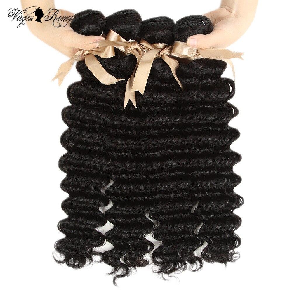 Kraftvoll Raw Indisches Haar Königin Reine Remy Indische Tiefe Welle Haar Bundles Menschliches Haar Weave Bundles Deal 3 4 Bundles Deal 30 Zoll Bundles Haarverlängerungen