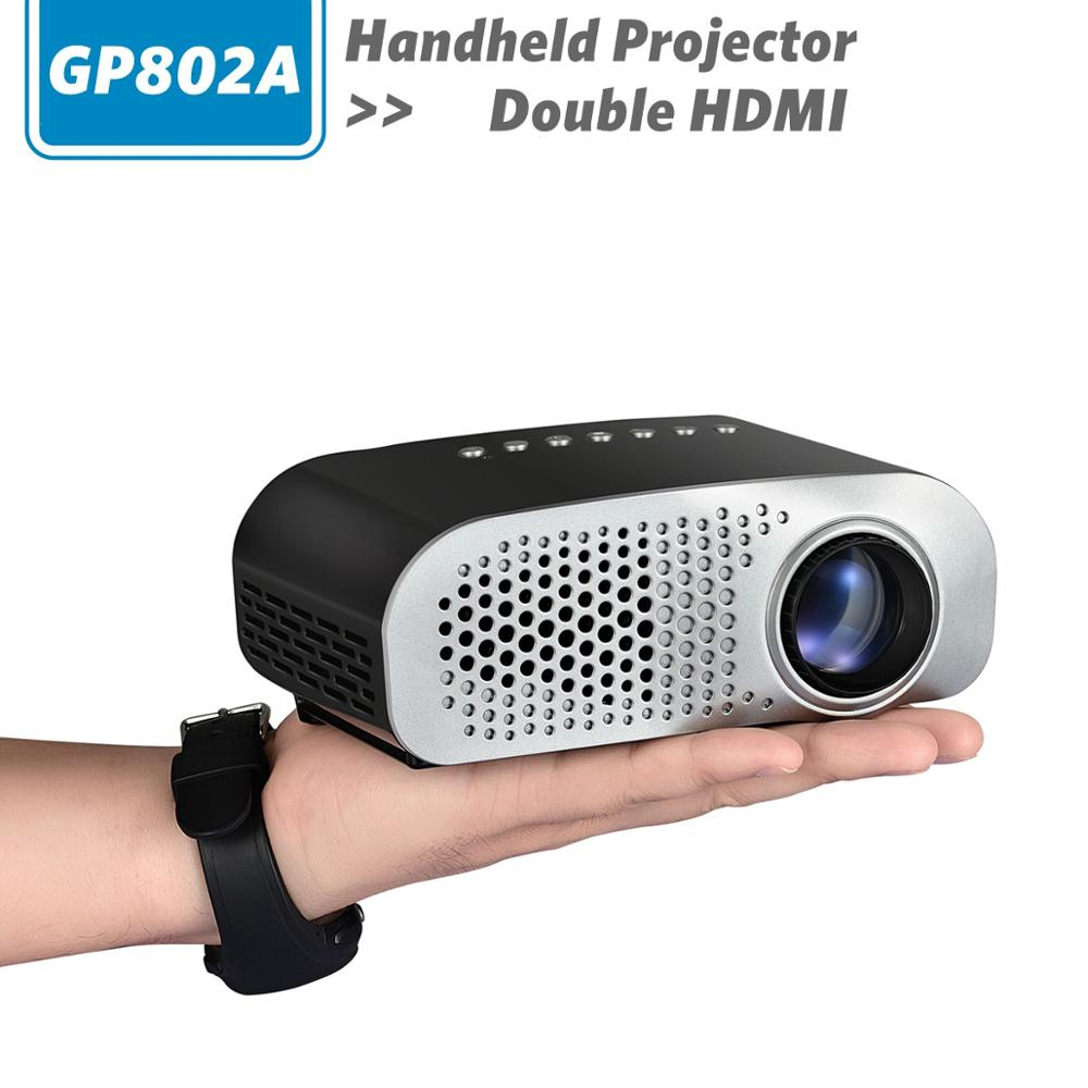 Tv Tuner Projector High Definition Home Theater Wxga Full: GP802A New Arrival Mini LED Projector,Pico Home Theater