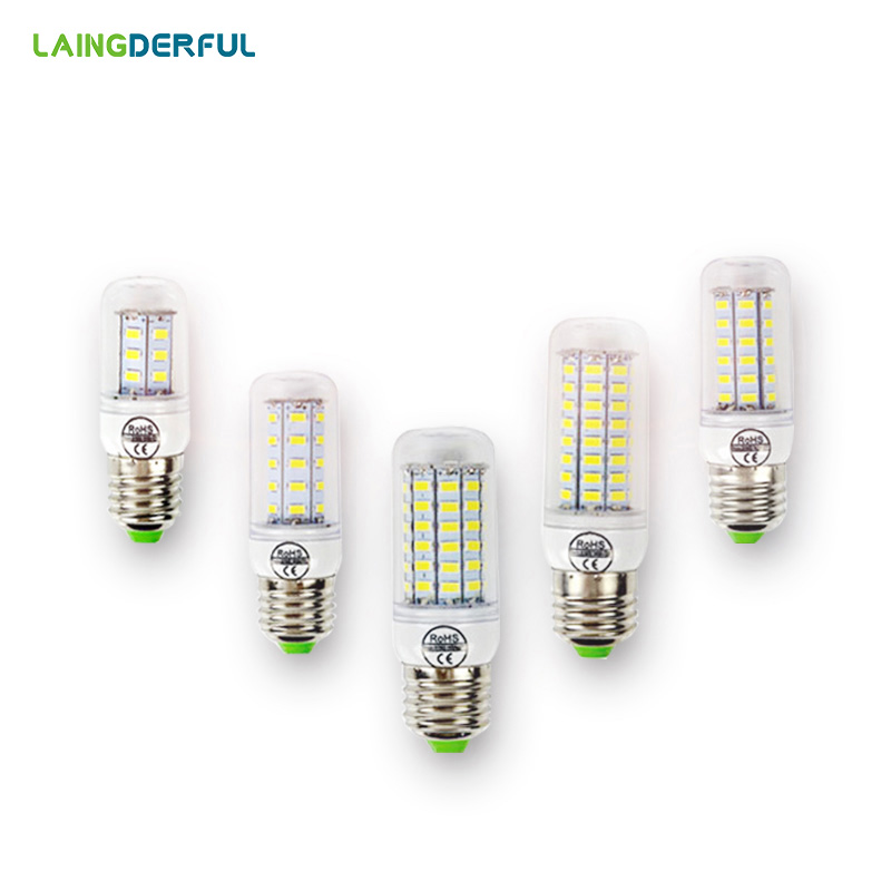 FRLED E27 E14 B22 LED mısır ampul 220 V LED Lamba 5730SMD 24 36 48 56 69 72 96 LED Lamba bombillas ampuller Lampada Ampul Işık