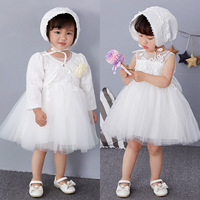 New Baby Frock Designs Newborn Baby Girl Baptism Gown Tutu First Birthday Dress For Infant Kids Party Formal Dress Clothing sets