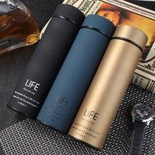 ZOOOBE термос для чая, вакуумная колба с фильтром из нержавеющей стали 304, Термокружка для кофе, бутылка для воды, для офиса, бизнеса, дома, термо
