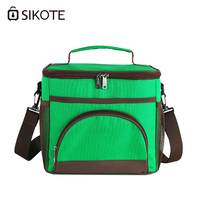 SIKOTE Waterproof Portable Lunch Box Dinner Picnic Bags Insulation Fold Cooler Bag Chair Thermo Bag Lancheira