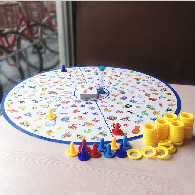 Board toys for Children detective game mind games Looking Chart educational toy Kids puzzle party parent child desktop tabletop
