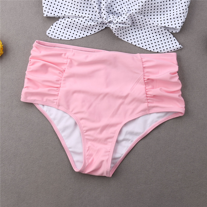 HTB1nFGNaLfsK1RjSszgq6yXzpXaA Swimwear Mom And Daughter Bikini Set Father And Son Matching Outfits Women Swimwear Baby Girl Swimsuit Family Matching Outfits