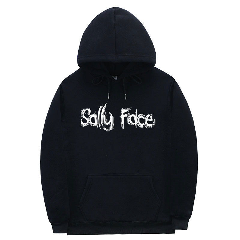 Sally Face Hoodies Women/Men Fashion Printed Hooded Sweatshirts Pullover Casual Streetwear Clothes Cartoon Cosplay Costume