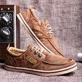 Весной и Осенью Высокое Качество Джинсовые Мужской Обуви Холст Обувь мода Квартиры Мужская Повседневная Обувь Человек Моды Марка Обувь Бесплатно доставка