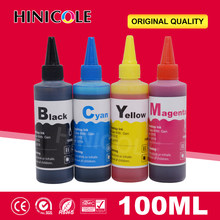 100 Ml Pewarna Tinta Isi Ulang Kit Untuk Epson 127 T127 T1271 T1272 T1273 T1274 Tinta Cartridge Printer Tinta Botol(China)