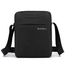 цены на Office Bags for Men Work Briefcase Men Crossbody Shoulder Bag Sacoche Homme Business Small Sling Man Messenger Bags Travel Works  в интернет-магазинах
