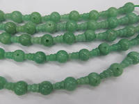 high quality 10 SETS DongLing Jade Beads 3 hole beads,T-Beads Set, Guru Beads, Prayer Beads, Mala Making Cones Beads, T hole set
