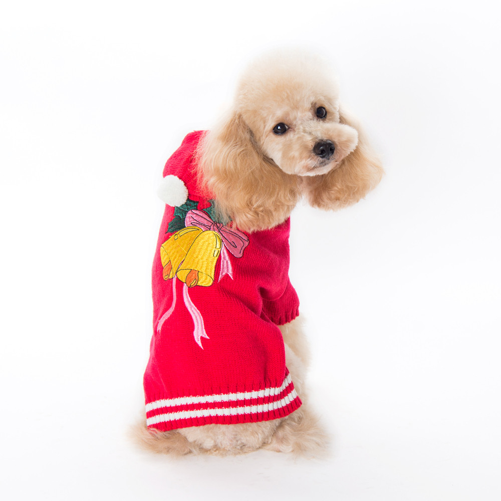 Small Dogs Costume Clothes For Little Dogs Overalls Cool And Cute Christmas Bells Sweater Clothing Pet Cat Dog Costume