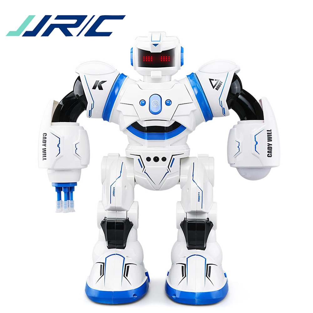 In Stock JJRC R3 RC Robot Combat CADY WILL Sensor Control Intelligent Combat Music Dancing Gesture Robots for Kid Toys VS R1 R2