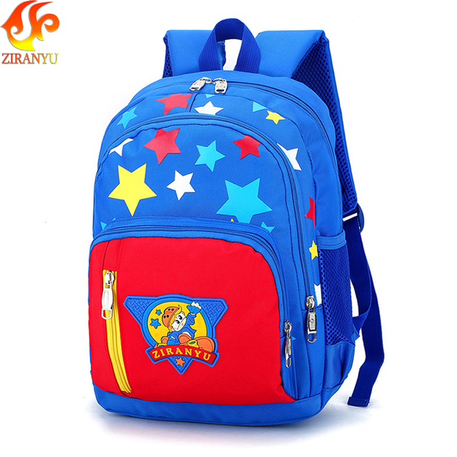 ZIRANYU Children Backpacks Primary School Bags For Students Kids anti theft backpack  Waterproof School bags printing 6372c9636e9f0