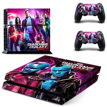 The Avengers Guardians of the Galaxy PS4 Skin Sticker Decal Vinyl for Playstation 4 Console and 2 Controllers PS4 Skin Stickers