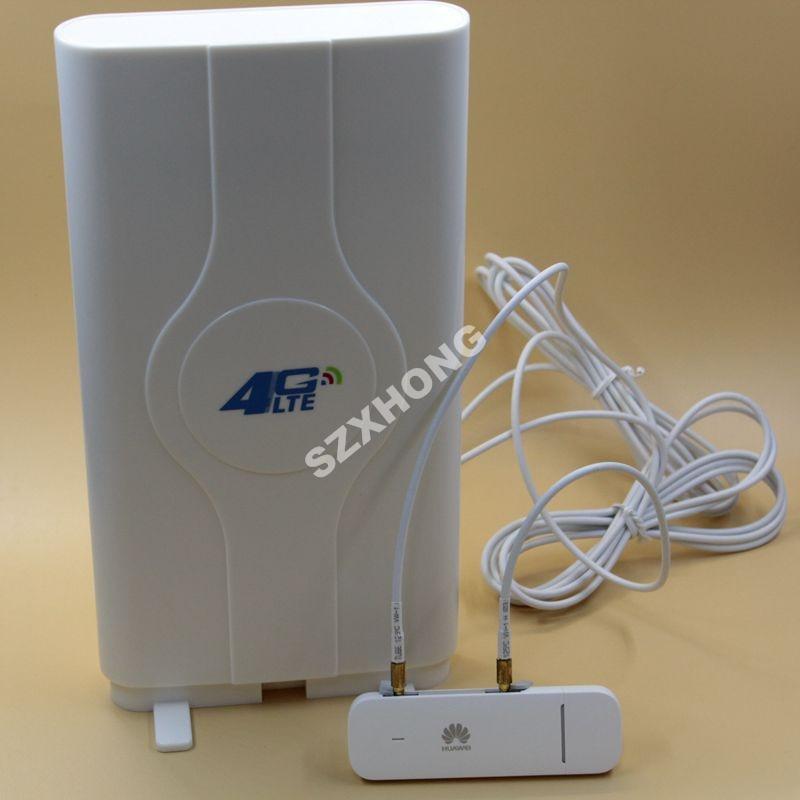 Unlocked Huawei 4G Modem E3372 E3372h-607 With Antenna 4G LTE USB Dongle Huawei E3372 Usb Modem For Laptop PK Huawei E3372s-153