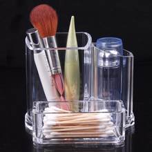 OutTop 100% Brand new and high Clear Acrylic Makeup Cosmetic Organizer Lipstick Brush Display Holder Stand 04.24(China)