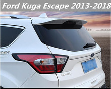 JIOYNG PAINT CAR REAR WING TRUNK LIP SPOILER FOR 13-17 18 For Ford Kuga Escape 2013 2014 2015 2016 2017 2018 FAST BY EMS