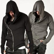 Assassins streetwear creed tracksuit hop sweatshirt hoodies zipper design brand men