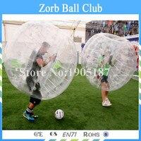 O envio gratuito de 1. 7 m PVC bola Zorb ou carros de bola 2015 venda quente de futebol bola bolha inflável bola das crianças e adulto toys