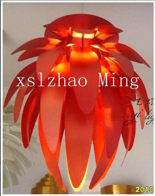 55CM Red Color Poul Henningsen PH Artichoke Pendant Lamp+free shipping
