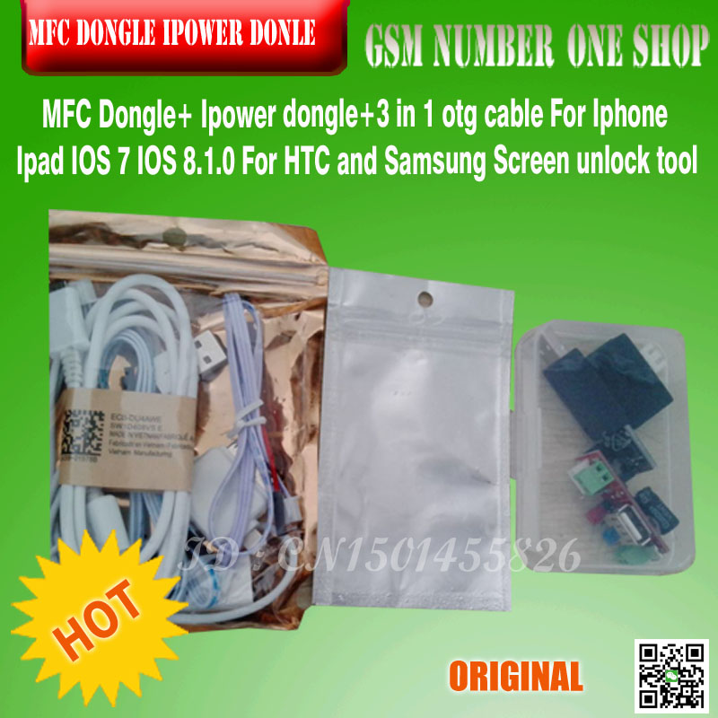 HOT 2017  New MFC Dongle For Iphone HTC And Samsung Screen Unlock Tool