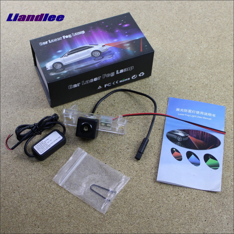Liandlee Car Tracing Cauda Laser Light For Peugeot 508 4D Sedan / 5D Station Wagon Special Anti Fog Lamps Rear Lights car tracing cauda laser light for volkswagen vw jetta mk6 bora 2010 2014 special anti fog lamps rear anti collision lights
