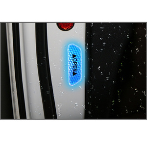 Image 3 - 4個diy外装警告ステッカードア安全反射警告ステッカー車デカール4色安全マーク車外装ステッカー