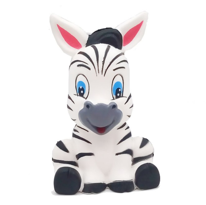 Zebra Horse Squishy Slow Rising Jumbo Animal Soft  Squeeze Toy Charms Cake Bread Kid Antistress Toys 13*8CM YH1708
