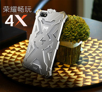 Original Simon THOR IRONMAN Shockproof Metal Back Cover Aluminium Frame Anti Knock Bumper For Huawei Honor